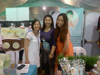 Mompreneurs at Expo Mom 2012