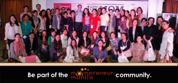 Be Part of the Mompreneur Manila Community