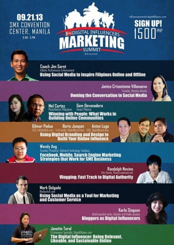 The Digital Influencers Marketing Summit