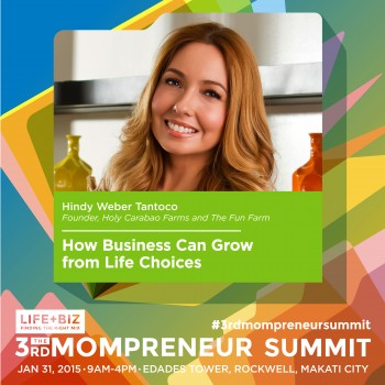 Holy Carabao Farms and Happy Skin Founders at 3rd Mompreneur Summit