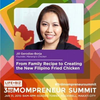 Manang's Chicken and The Picture Co. Founders at 3rd Mompreneur Summit