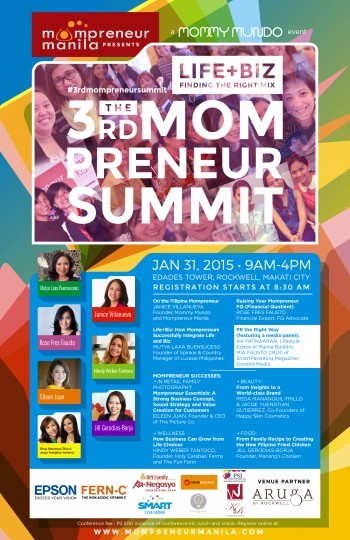 The 3rd Mompreneur Summit: LIFE+BIZ