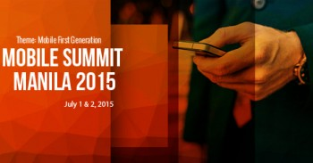 Mobile Summit Manila Tackles the Mobile-First Generation