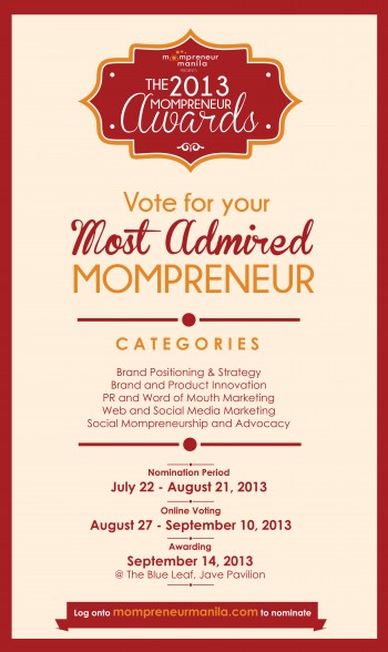 The First Mompreneur Awards 2013