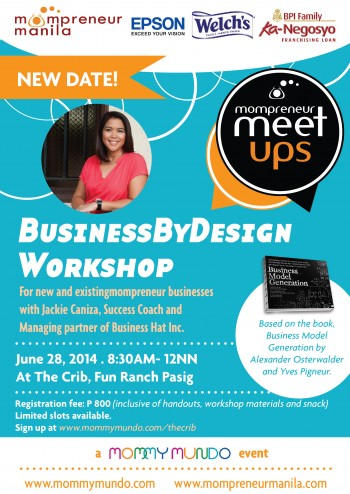 Mompreneur MeetUp: Business Model Workshop by Jackie Caniza