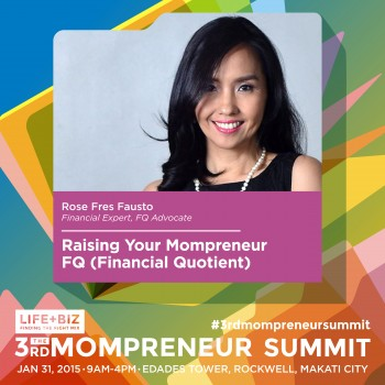 Spinkie Founder and PhilStar.com Columnist at 3rd Mompreneur Summit